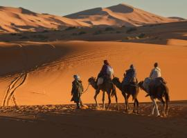 Luxury Rissani Desert, luxury tent in Hassilabied
