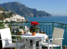 Amalfi Blue Flowers A