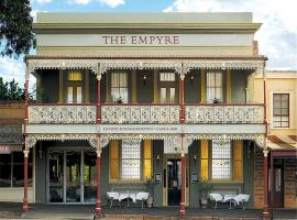 The Empyre Boutique Hotel, hotel in Castlemaine