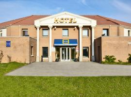 Kyriad Dunkerque Sud - Loon Plage, hotel dicht bij: Dunkerque Hospital, Loon-Plage