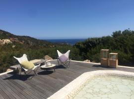Luxury villa in porto cervo, hotel with pools in Porto Cervo