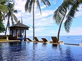 Villa Alba Bali Dive Resort, hotel in Tulamben