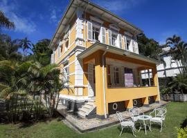 Hotel Pousada Palacio de Cristal, hotel in Petrópolis