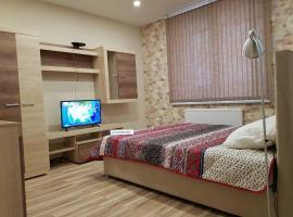 Апартаменты на Юбилейном 68/28, hotel in Malyye Krutitsy