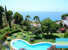 Apartamento con espectaculares vistas al mar., hotell nära Punta Lara, Nerja