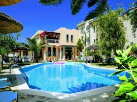 Aquarius Exclusive Apartments, serviced apartment in Agia Pelagia