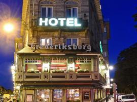 Hotel Frederiksborg, hotel in Brussels
