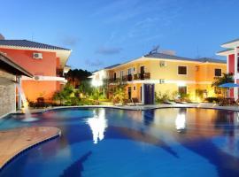 Aquaville Apart Hotel, hotel in Praia de Taperapuan, Porto Seguro