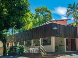 Pousada Recanto Passarela, hotel perto de Montanha Itaguassu, Aparecida