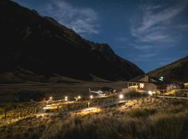 Minaret Station Alpine Lodge, hotel in Wanaka