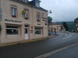 Le Franco Belge、モンテルメのホテル