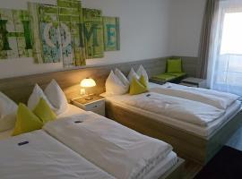 Hotel Deutschherrenhof, отель в Трире