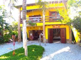Pousada Poshtel lounge bar Luar De Prata, hostel in Paraty