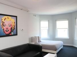 Furnished Newbury Street Studio, #6, apartment in Boston