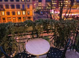 Hotel Zurigo Downtown, отель в Лугано