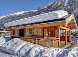 Chalets Ile des Barrats, chalet i Chamonix-Mont-Blanc