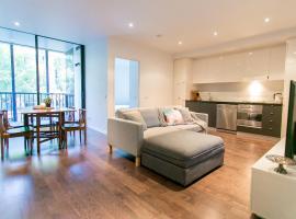 Dzīvoklis RIVERSIDE RICHMOND LARGE 1 BEDROOM ☆POOL☆PARKING☆NETFLIX☆ Melburnā