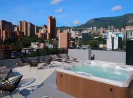 Hotel Dix, hotel near The Dancer's Park, Medellín