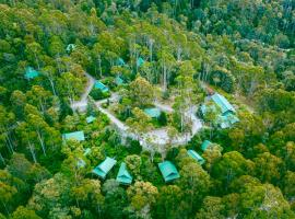 Lemonthyme Wilderness Retreat, hotel in Moina