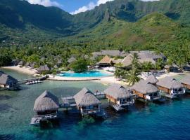 Manava Beach Resort & Spa Moorea, hotel em Maharepa