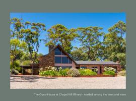 Chapel Hill Winery Guest House, hotel near Chapel Hill Wine, McLaren Vale