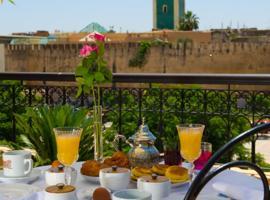 Riad Yacout, riad in Meknès