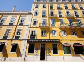 TURIM Restauradores Hotel, hotel in Av. Liberdade, Lisbon