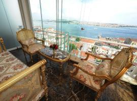 Maroon Bosphorus, отель в Стамбуле, рядом находится Дворец Долмабахче