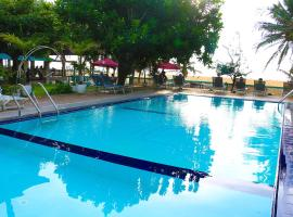 Topaz Beach Hotel, hotel en Negombo