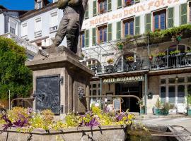 Hôtel des Deux Forts, hôtel à Salins-les-Bains