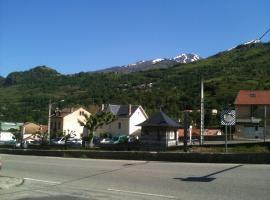 オテル ドゥ ラ ペ、Luzenacのホテル