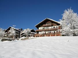 Hotel Adler Garni, hotel in Hirschegg