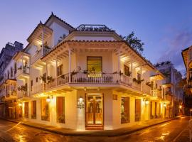 Hotel Boutique Casona del Colegio, hotel en Cartagena de Indias