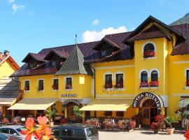 Hotel Kotnik, hotel in Kranjska Gora