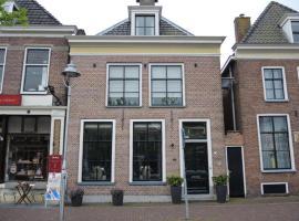 Huize van Andel, hotel near Franeker Station, Franeker