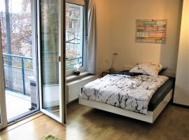 Hochwertiges Apartment im Grünen, zentral gelegen, ruhig, Balkon, Ferienwohnung in Hannover