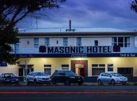Masonic Hotel, hôtel à Palmerston North