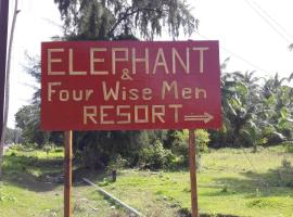 Elephant and Four wise men resort, beach hotel in Neil Island