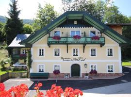 Hollwegers Landhaus - Das Lisl, hotel near Zwölferhorn Seilbahn, Sankt Gilgen