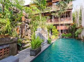 Rumah Roda, hotel in Ubud