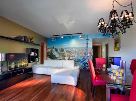 Castro Exclusive Residences Sant Pau, apartment in Barcelona