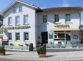 Hotel zum Hafen, Hotel in Sassnitz