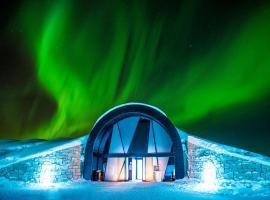 Icehotel, hotel in Jukkasjärvi