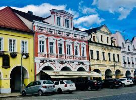 Hotel Sokolský Dům, hotel v destinaci Domažlice