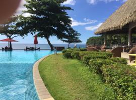 Duplex vue mer, accès direct a la plage le luxe, hotel perto de Faarumai Waterfalls, Arue