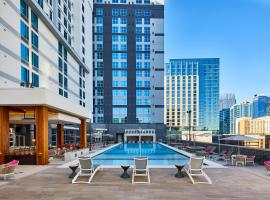 SpringHill Suites by Marriott Nashville Downtown/Convention Center, hotel in Downtown Nashville, Nashville