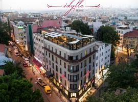 Idylle Hotel, hotel poblíž významného místa Palác Topkapi, Istanbul