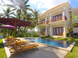 Suarsena Villa Ubud, villa in Ubud