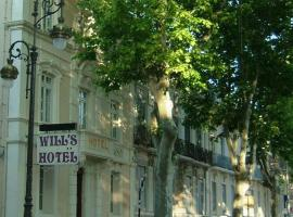 Will's Hotel, hotel near Abbaye de Fontfroide, Narbonne