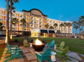 DoubleTree by Hilton Galveston Beach, hotel in The Seawall, Galveston